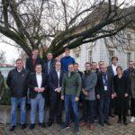 Gruppenbild der Diabek-Projektpartner, 17 Menschen