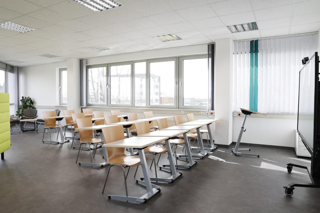 Unser Foto zeigt die Lernwerkstatt am Innovationscampus in Merkendorf.
