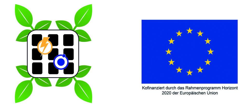Unser Foto zeigt Links das Logo des Projekts