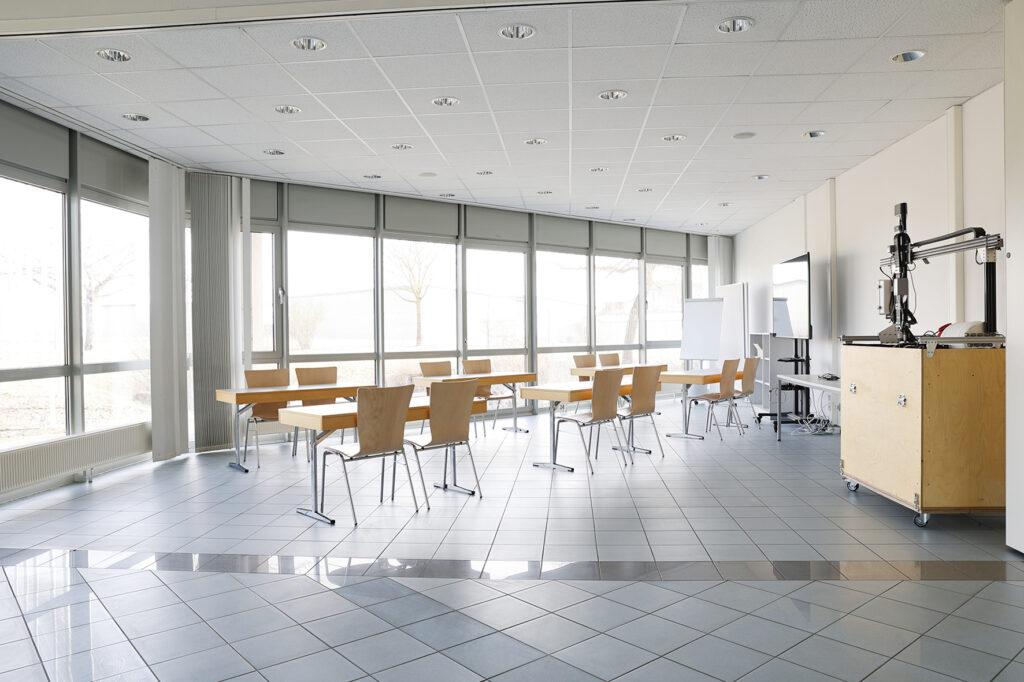 Unser Foto zeigt den Seminarraum des Biomasse-Instituts am Innovationscampus in Merkendorf.