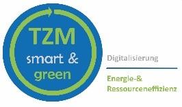 Unser Foto zeigt das Logo des TZM-Projekts (Smart & Green)